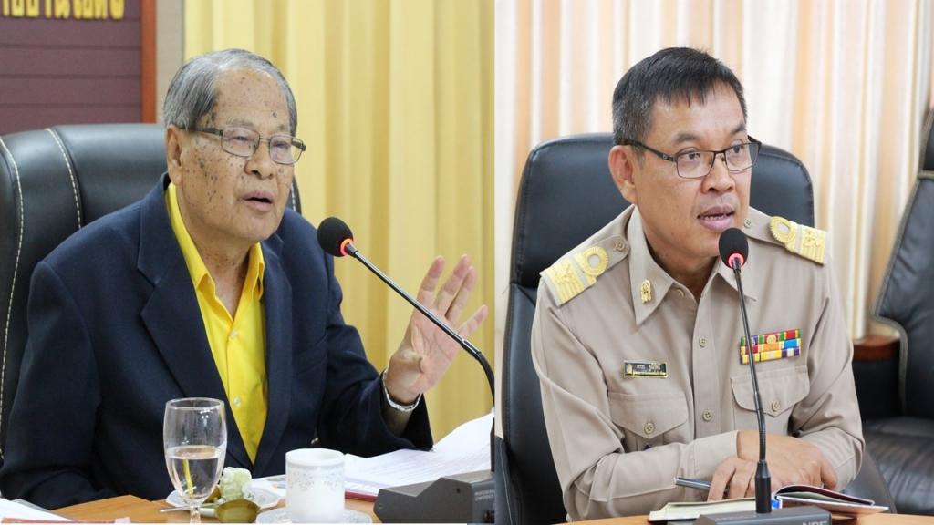ผู้เชี่ยวชาญร่วมวิพากษ์การนำเสนอแผนการขับเคลื่อน BEST PRACTICE UBON 1 : 2023 MODEL