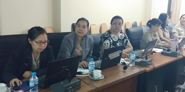 ประชุมคณะกรรมการดำเนินงานตามมาตรการในระบบการเผยแพร่ข้อมูลต่อสาธารณะผ่านเว็บไซต์