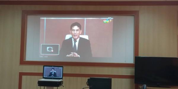 สพป.อุบลราชธานี เขต 1 ร่วมประชุมทางไกลวิดีโอคอนเฟอเรนซ์ เรื่อง ระบบประชุมทางไกลในองค์กร
