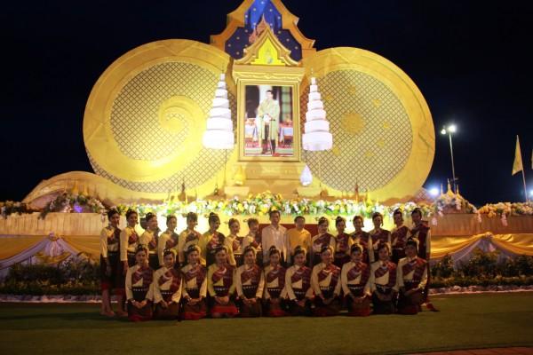 สพป.อุบลราชธานี เขต 1 ร่วมแสดงมหรสพสมโภช เนื่องในโอกาสพระราชพิธีบรมราชาภิเษก