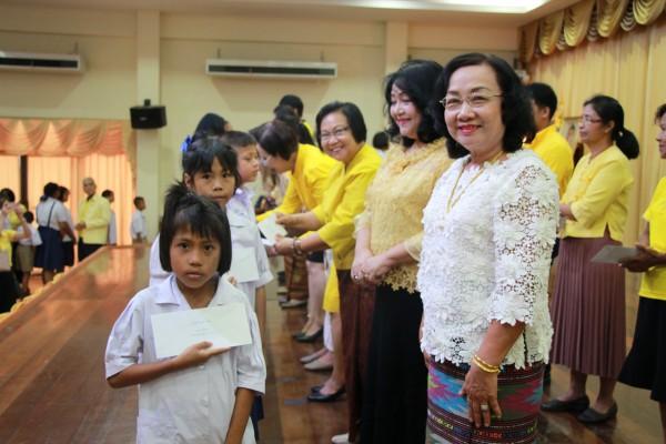 พิธีมอบทุนการศึกษา สมาคม-มูลนิธิชาวอุบลราชธานี ประจำปี 2562
